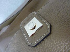 NWT Furla Cappuccino Pebbled Leather Jo Vertical Tote Bag image 9