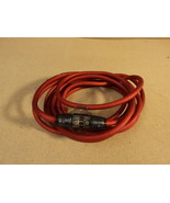 Standard Auto Marine RV Ground Cable 17 Foot Red Coupling Block - $24.04