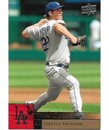 Baseball Card- Clayton Kershaw 2009 Upper Deck #984 - $1.25