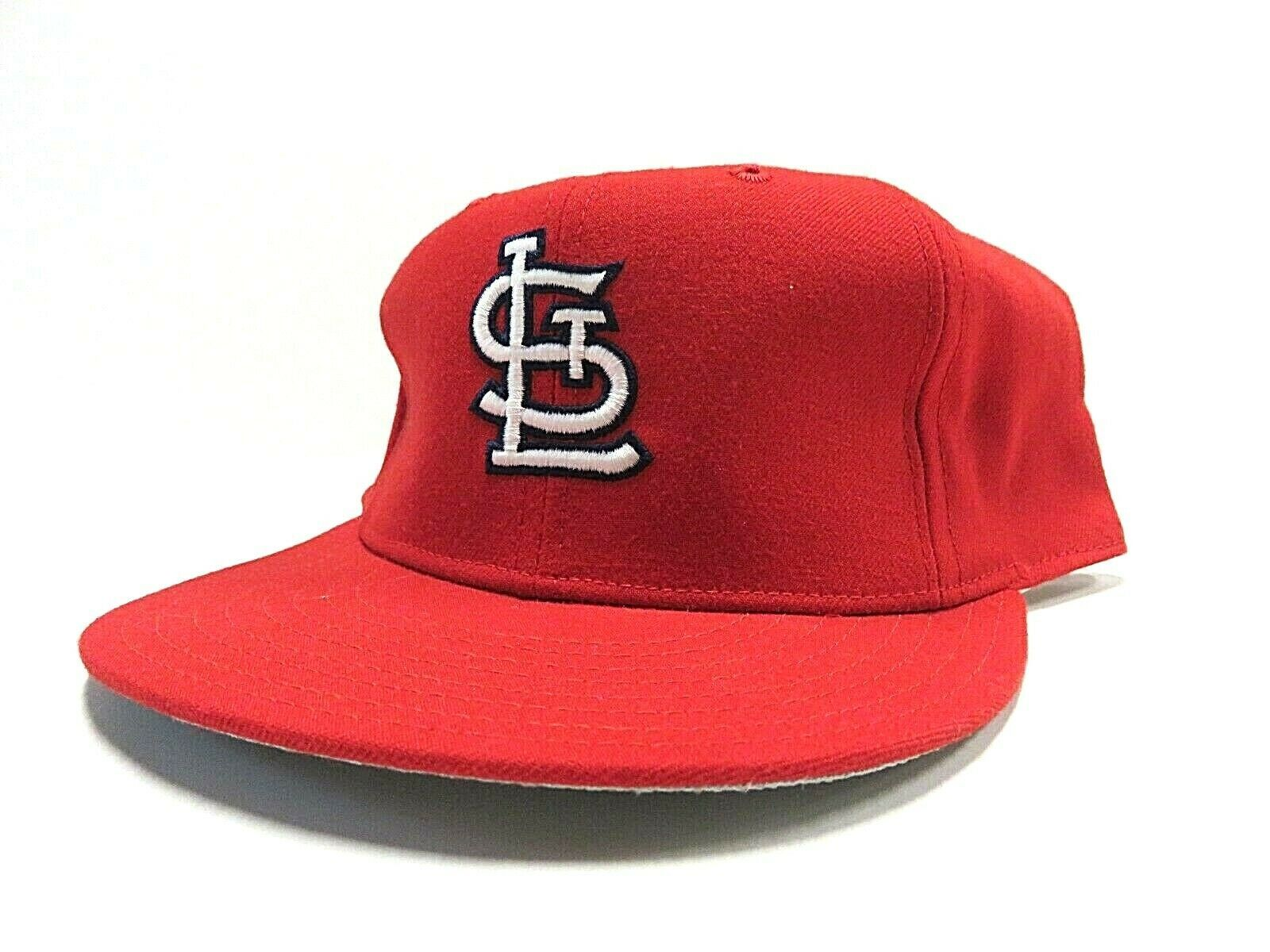 VTG New Era St.Louis Cardinals MLB Baseball Fitted Hat Adult Size 7 3/4 USA Made