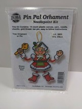 NMI Pin Pal Ornament Needlepoint Kit Christmas Mrs. Claus  5602 - $11.75