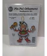 NMI Pin Pal Ornament Needlepoint Kit Christmas Mrs. Claus  5602 - $11.75