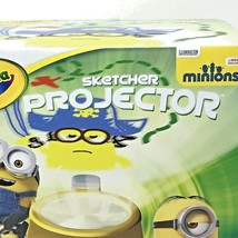 Crayola Sketcher Children PROJECTOR Minions Markers Stickers 20X Projection  - $29.99