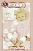 Bernat Girly Girl Knit & Crochet Patterns Book Poncho Blanket Stuffed To... - $5.87