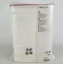 Ikea Kungsblomma King Duvet Cover w/2 Pillowcases Bed Set White / Red New - $56.21