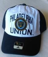 Adidas MLS Philadelphia Union Soccer Hat Cap Curved Visor Size S/M - $20.00