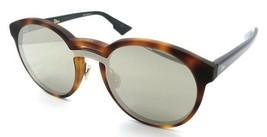 Christian Dior Sunglasses Dior Onde 1 5FCQV 99-01-145 Dark Havana Black / Ivory - $176.40