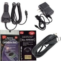 Casio Hitachi G'zOne Commando Charging Kit: Car Charger, House Charger a... - $11.83