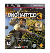 Uncharted 3: Drake's Deception -- Game of the Year Edition (Sony PlaySta... - $6.01
