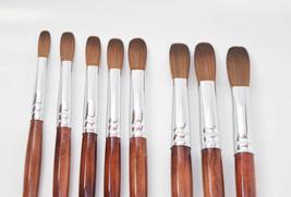 EX Kolinsky Acrylic Nail Brush For Manicure Powder (CRIMPED) - Choose yo... - $17.32+