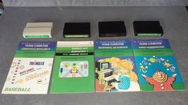 Texas Instruments TI-99/4A: 4 Carts - Grammar + Math Games VI + Addition ++ - $19.00