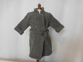 American Girl KIT Retired Gray Belted Winter Coat - $23.78