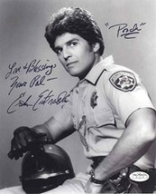 Erik Estrada CHiPs Signed 8x10 Photo Certified Authentic JSA COA - $128.69
