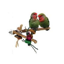 A&e Cage Assorted Java Wood Branch Bird Toy Small 644472018417 - £19.99 GBP