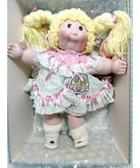 """1985 Cabbage Patch Pamela Diane 16"""" Porcelain Doll #4888 w/ Original Boxes - $200.00"""