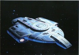 Star Trek DS9 U.S.S Defiant Postcard Season 6 #12 German 1997 NEW UNUSED - $3.00