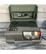 Vintage Wollensak 3M Model 1520 Magnetic Tape Recorder Reel To Reel Tested - $59.35