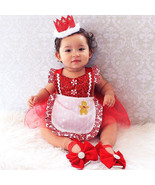 StylesILove Infant Baby Girl Tulle Sequin Romper Dress with Apron Design... - $14.99