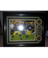 Danbury Mint Green Bay Packers - Dynamic Duo Aaron Rodgers and Randall Cob - $54.22