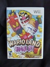 Mario Land Shake It Nintendo Wii 2008  Complete Excellent Disc - $17.59