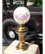 Antique Victorian Parker Gone With The Wind Ball Shade Lamp c. 1905 - $339.00