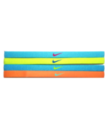 NEW Nike Girl`s Assorted All Sports Headbands 4 Pack Multi-Color #2 - $20.00