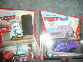 NEW WORLD OF CARS LOT OF 2 GUIDO AND DON CRUMLIN DEAL DISNEY PIXAR CARS ... - $17.71