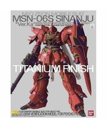 "Bandai 1/100 MG GUNDAM MSN-06S Sinanju ""Ver.Ka"" Titanium Finish from Japan - $120.03"