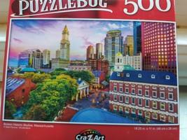 New 500 Piece Jigsaw Puzzle (Boston Historic Skyline) Puzzlebug - $6.99