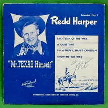 "Rare 1951 Vinyl 7"" EP 45 RPM Record, Extend Play 7 Featuring Red Harper - $4.95"