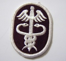 Army Health Services Command Patch Full COLOR:K4 - $3.00