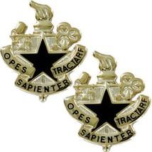 Genuine U.S Army Crest: Logistics University - Opes S API Enter Tractare - $17.80