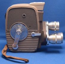 KEYSTONE K-26 Vintage 8mm Magazine Movie Camera ELGEET Turret lens USA - $41.40