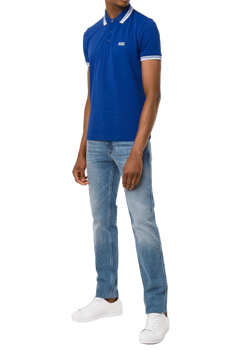 Hugo Boss Men's Premium Cotton Green Tag Sport Polo Shirt T-Shirt Paddy image 5