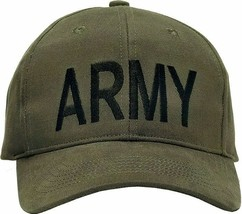 Olive Drab Army Supreme Adjustable Cap - $9.99