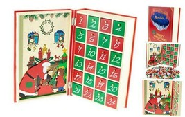 Night Before Christmas Book Advent Calendar - Santa Delivering Presents ... - $109.93