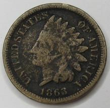 1863 Indian Head Cent - Good - $9.99