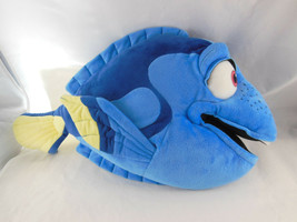 """17"""" Finding Dory Blue Tang Fish PLUSH TOY Doll Disney Store Velvety cloth - $14.84"""