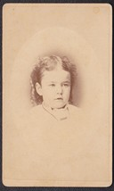 Louise Keith CDV Carte de Visite Photo of Pretty Little Girl - Marshfiel... - $17.50