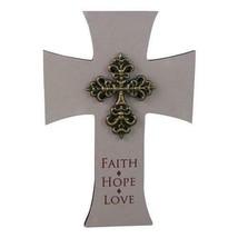 FAITH HOPE LOVE CROSS - $13.45