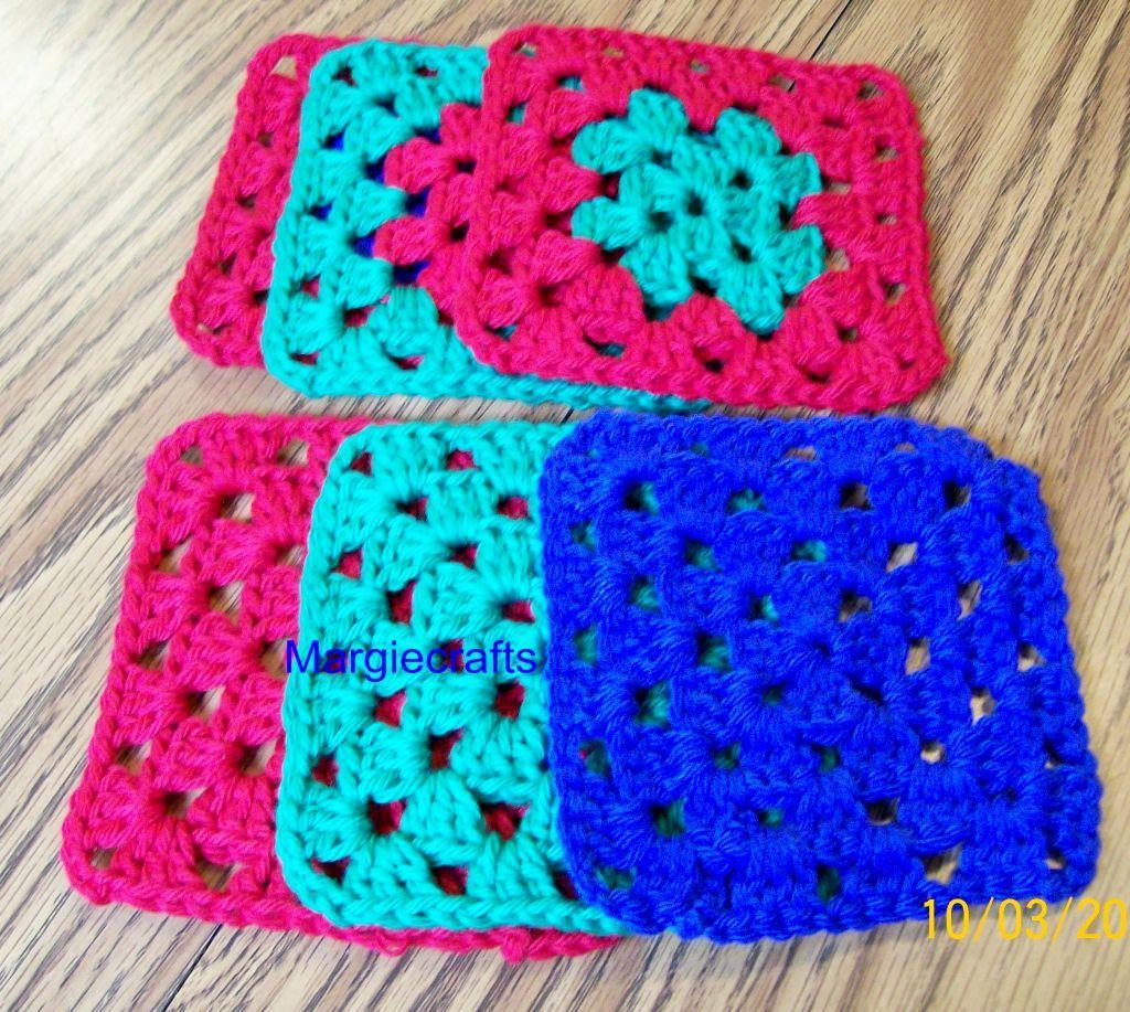 Granny coasters  1
