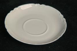 Haviland Limoges Ranson White Flat Saucer for Tea or Bouillon Cups - $5.94