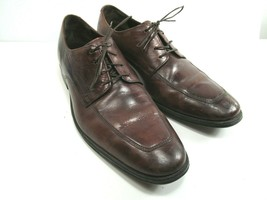 Cole Haan Nikeair Mens Brown Leather Apron Toe Oxfords Size US 10.5 M In... - $28.13