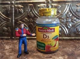 Nature Made Vitamin D3 5000 IU 80 Gummies Strawberry, Peach, Mango Exp: 09/2021 - $14.99