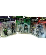 """""""Kiss"""" Psycho Circus Figures Simmons,Stanley,Criss Sealed on bent boards! - $46.42"""