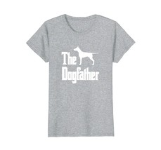 The Dogfather t-shirt Doberman silhouette funny dog gift - $19.99+