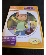 Fisher Price iXL Learning System Handy Manny Learning Game - $4.37