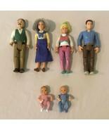 Fisher Price Loving Family Dollhouse Doll Mom Dad Grandma Grandpa Baby C... - $9.99+
