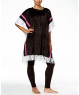 DKNY Women's Fleece Lounge Poncho, Size S/M, L/XL, MSRP $59 - $20.89