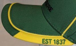 John Deere LP67010 Green Adjustable Baseball Cap With Leaping Deer Logo image 4
